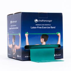 Chattanooga Premium Clinic Essentials Latex Free Exercise Band, 50 Yard